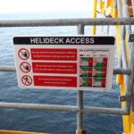 Engie E&P Nederland BV E17a Blomsma Signs & Safety