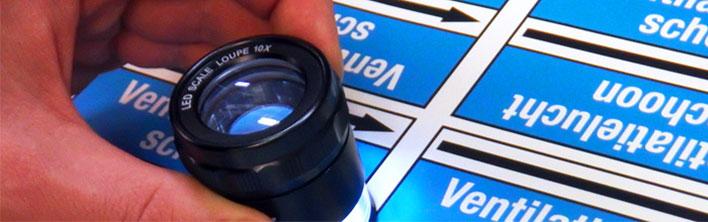 Hoge kwaliteit leidingmarkering, gebruikmakend van PolyesPro leidingmarkering ontwikkeld in samenwerking met 3M