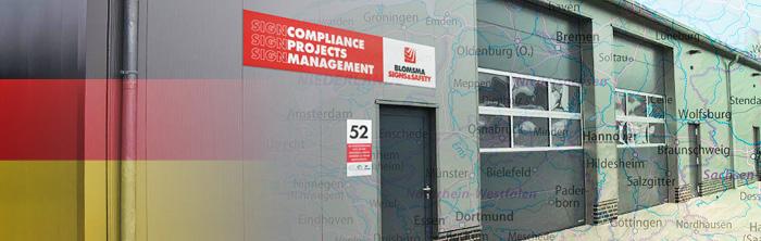 Blomsma Signs & Safety Oldenburg Deutschland