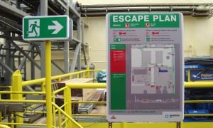 Gryphon A renovatie veiligheidssignalering Blomsma Signs & Safety Offshore & Marine