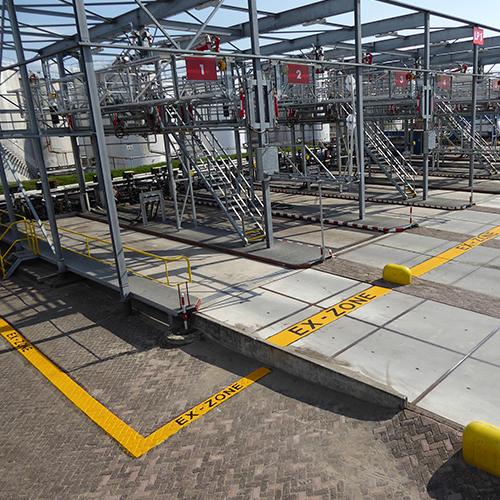 Ex zone Signalering ATEX veiligheidsmaatregelen Blomsma Signs & Safety