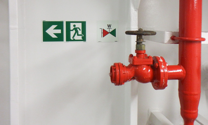 DCV Aegir Heerema Marine Contractors Blomsma Signs & Safety Safety Signage
