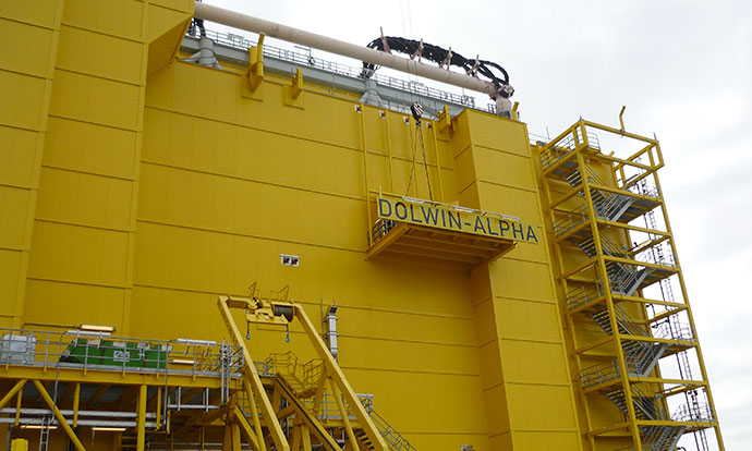 DolWin Alpha HVDC platform