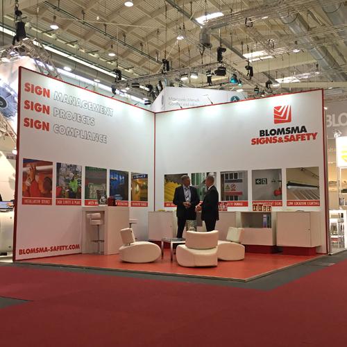 Blomsma Signs & Safety aanwezig op SMM Hamburg