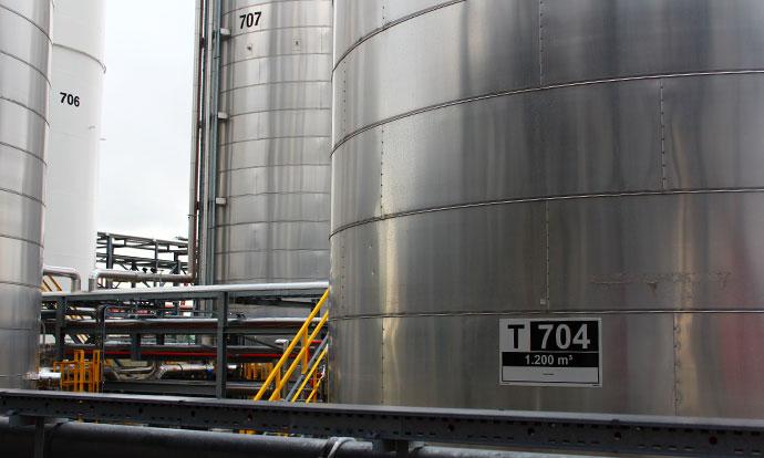 Blomsma Signs & Safety veiligheidssignalering tank terminals Rubis