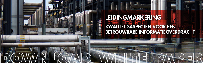 White paper kwaliteit leidingmarkering blomsma signs & safety
