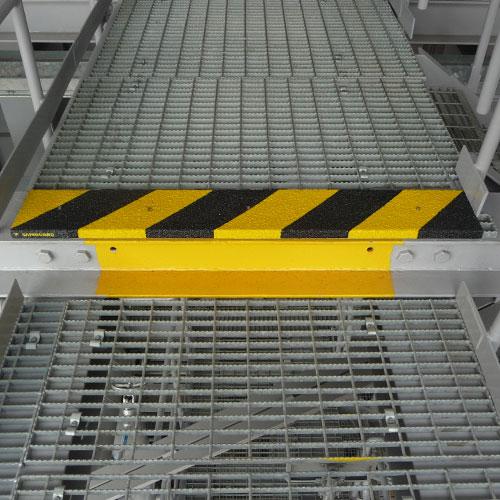 Markeerpanelen kunnen op maat gemaakt worden die exact passen op de plekken die moeten worden gemarkeerd.