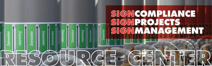 Lancering Resource Center Blomsma Signs & Safety