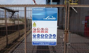 Linde Benelux site entrance signs Blomsma Signs & Safety