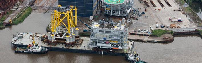 Veiligheidssignalering voor Norther OHVS platform