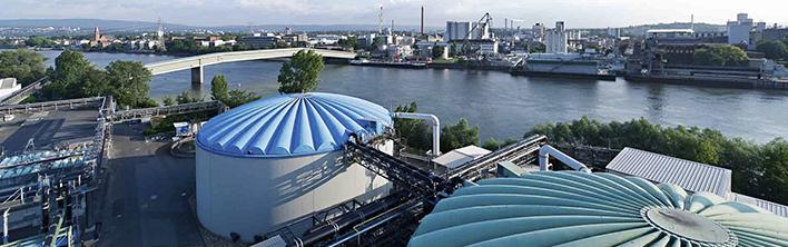 InfraServ Wiesbaden Rohrleitungskennzeichnung Blomsma Signs & Safety GmbH