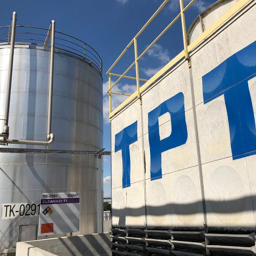 Tankkennzeichnungen für TPT Terneuzen