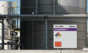 TPT Terneuzen tankmarkeringen door Blomsma Signs & Safety