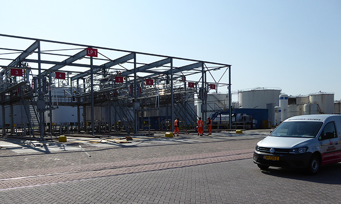 Standic Dordrecht EX zone markering Blomsma Signs & Safety ATEX