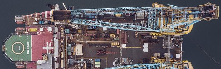 Reconstruction Saipem 7000 safety signage by Blomsma Signs & Safety