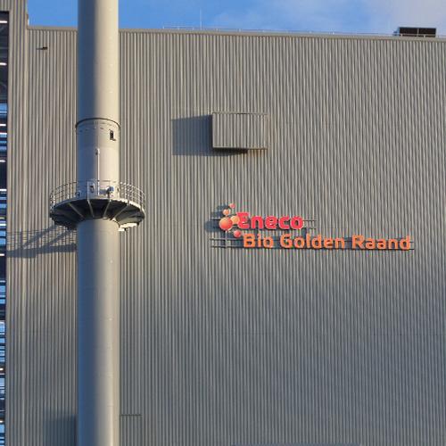 Blomsma Hoogezand realisiert Sicherheitskennzeichnung für Eneco Biokraftwerk Delfzijl