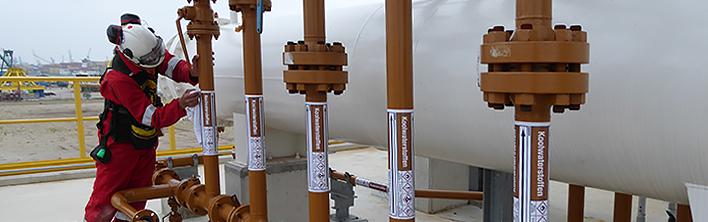 RDM Training Plant Sicherheitskennzeichnung Blomsma Sign & Safety