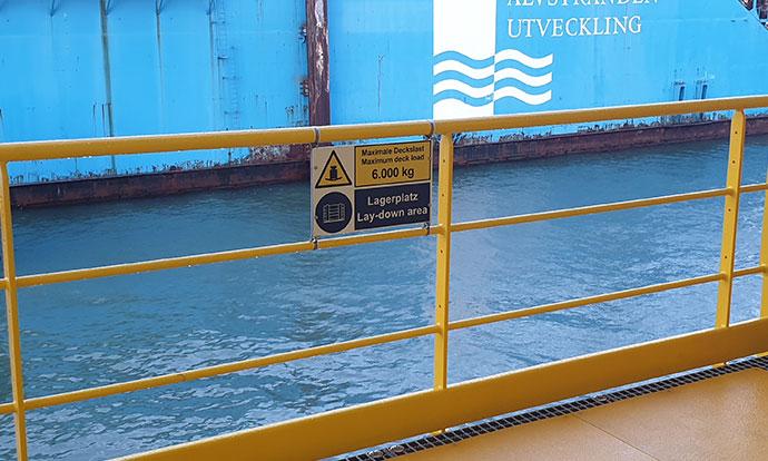 Deutsche Bucht safety signage Blomsma Signs & Safety