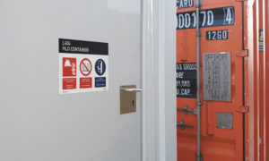 Deutsche Bucht Topside Komplettes Kennzeichnungsprojekt Blomsma Signs & Safety