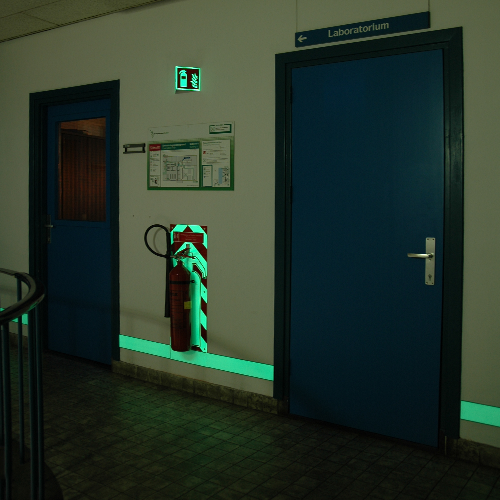 Surveys Audit Low Location Lighting Systemen by Blomsma Signs & Safety