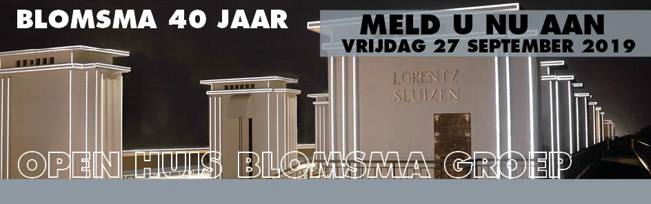 Aanmelding Open Huis Blomsma Groep 40 jaar