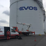 Rebranding Tankkennzeichnungen Evos Hamburg