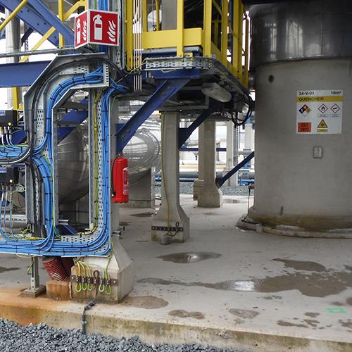 Blomsma setzt Rekonstruktion der Sicherheitskennzeichnung bei Gate Terminal fort