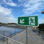 Sicherheitskennzeichnung Hoogheemraadschap van Delfland